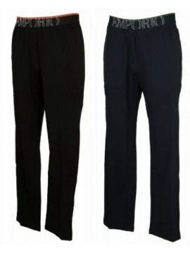 SG Pantalone lungo tuta tempo libero loungewear uomo pantaloni cotone EMPORIO AR