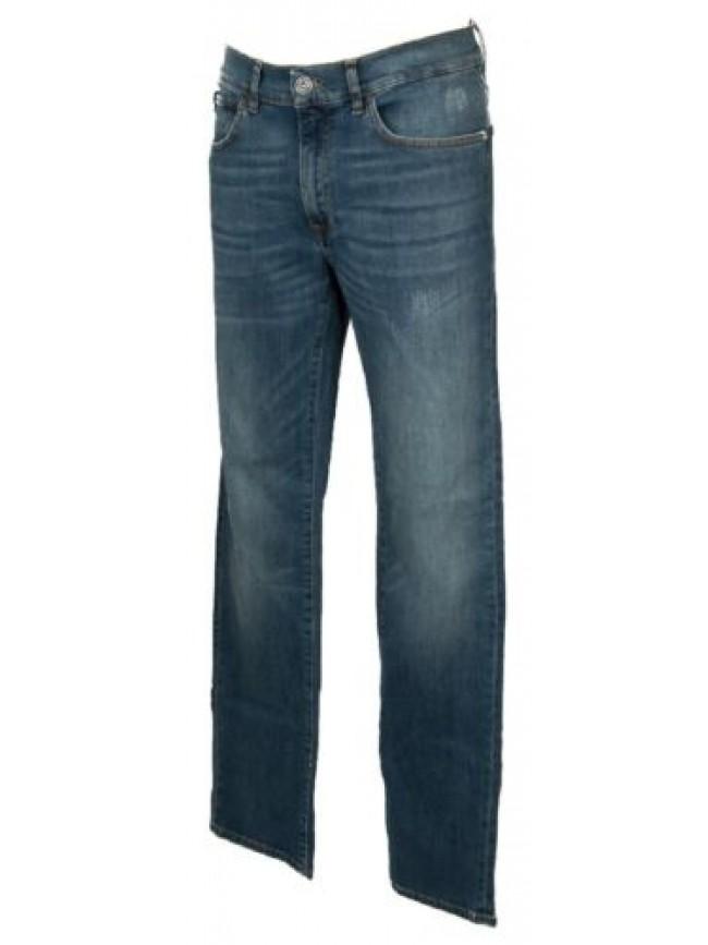SG Pantalone lungo uomo jeans TRUSSARDI JEANS articolo 52J00018 380 ICON DENIM S