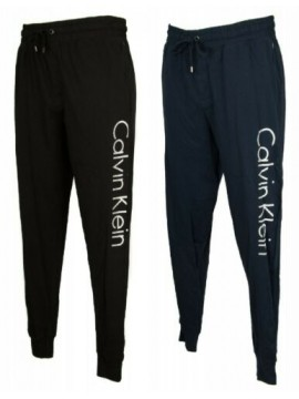 SG Pantalone lungo uomo pantaloni cotone sport tempo libero log CK CALVIN KLEIN