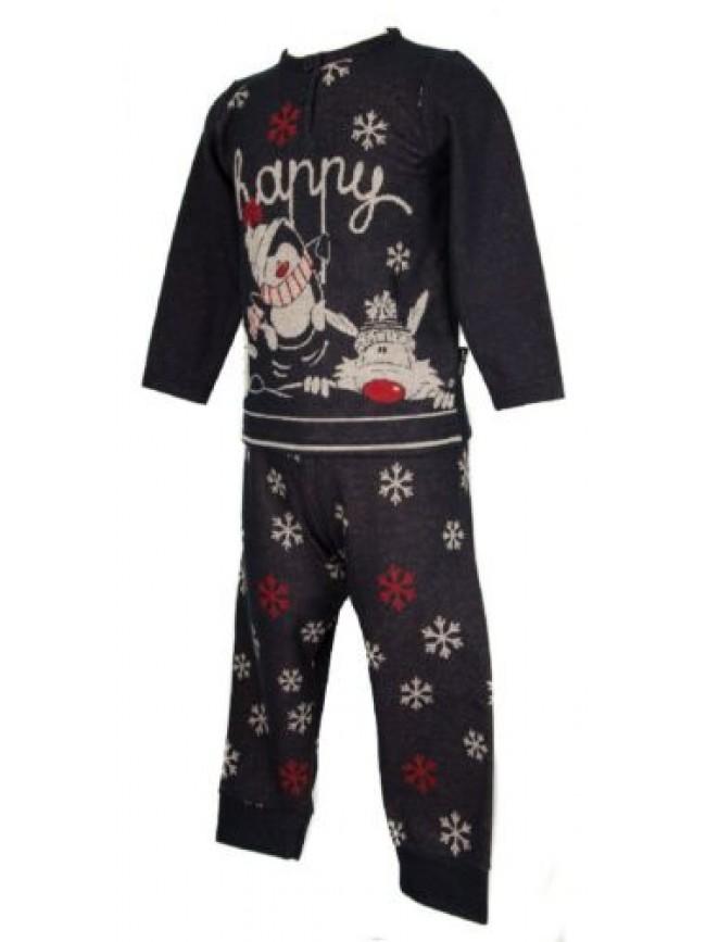 SG Pigiama bimba bambina manica lunga collo serafino sleepwear HAPPY PEOPLE arti