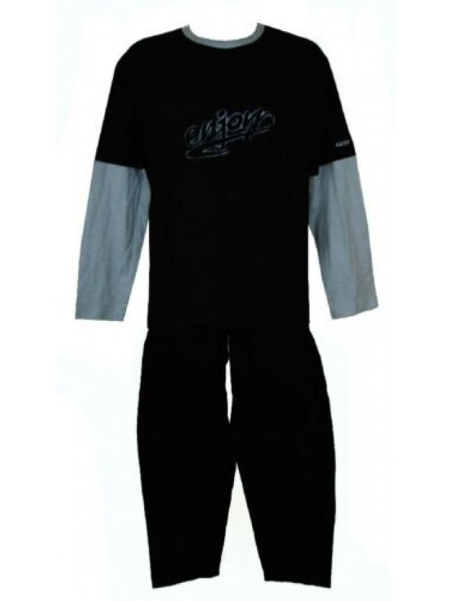 SG Pigiama uomo cotone manica lunga pantalone lungo girocollo FILA articolo 5007