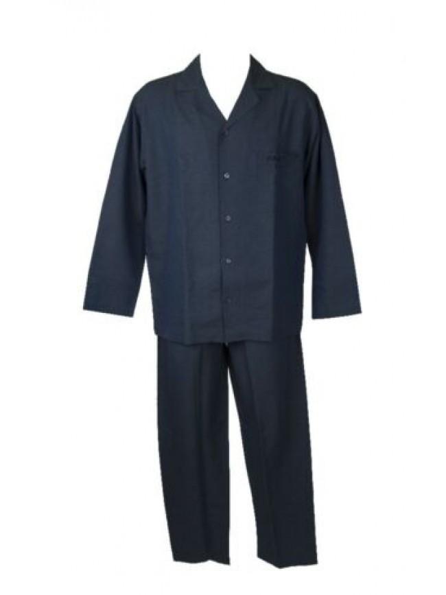 SG Pigiama uomo manica lunga pantalone lungo aperto con bottoni cotone FILA arti