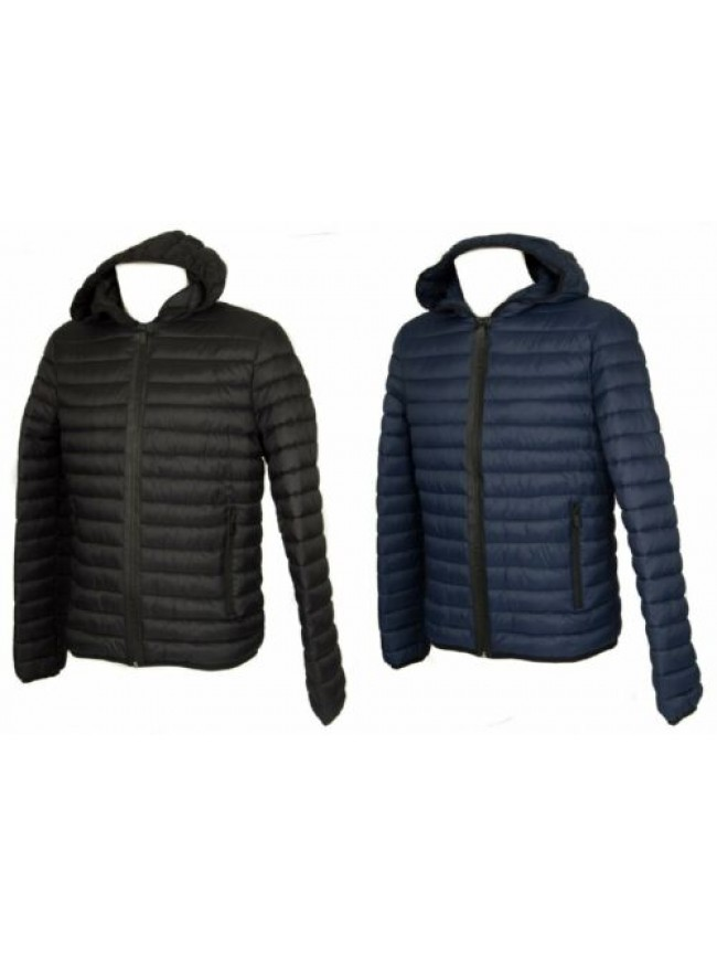 SG Piumino giubbotto giacca uomo con cappuccio zip e tasche TRUSSARDI JEANS arti