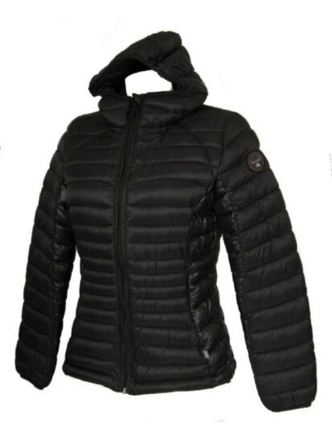 SG Piumino giubbotto giaccone giacca donna con cappuccio zip e tasche NAPAPIJRI