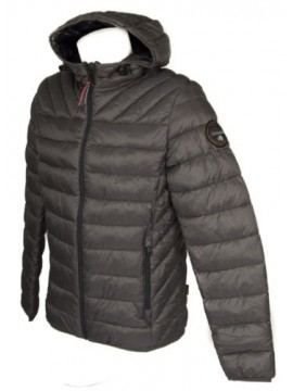 SG Piumino giubbotto giaccone giacca uomo con cappuccio zip e tasche NAPAPIJRI a