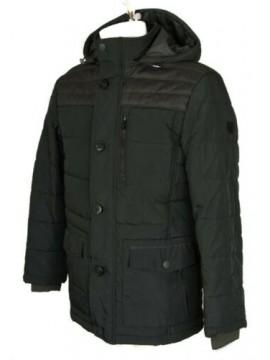 SG Piumino giubbotto giaccone uomo con cappuccio staccabile zip e bottoni SEA BA