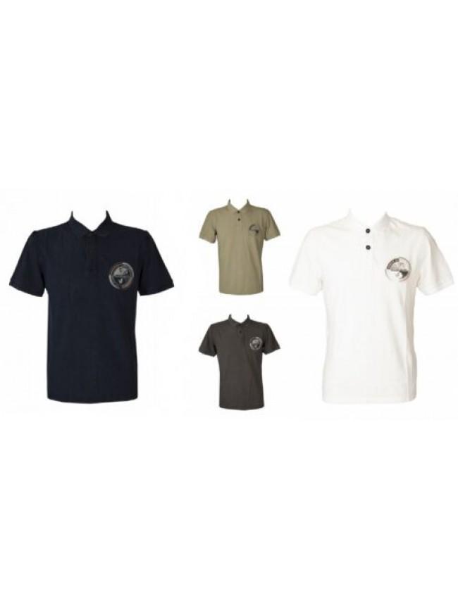 SG Polo uomo con colletto e bottoni manica corta t shirt maglietta NAPAPIJRI art