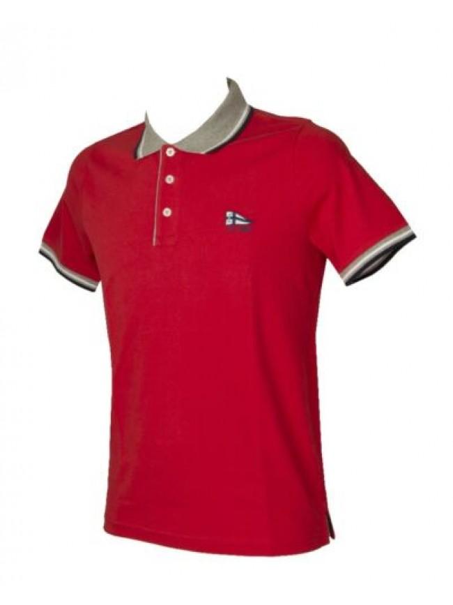 SG Polo uomo maglia manica corta con colletto e bottoni FERRANTE articolo I35602