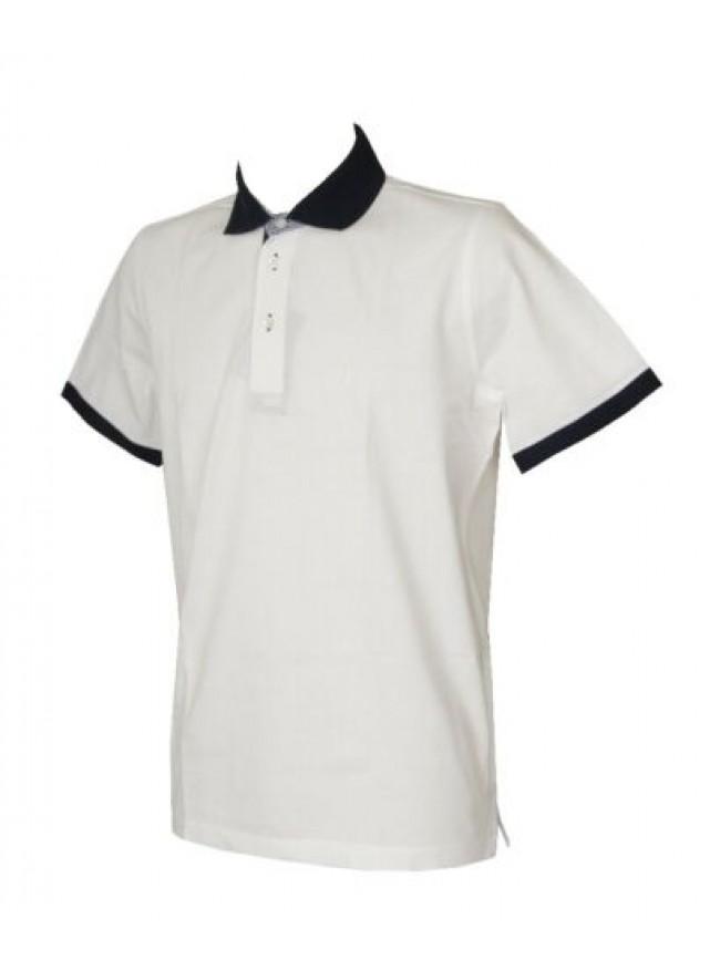 SG Polo uomo maglia manica corta con colletto e bottoni FERRANTE articolo I38602