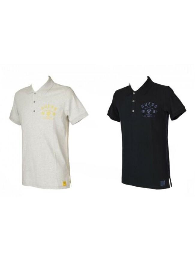 SG Polo uomo manica corta con colletto e bottoni maglietta GUESS articolo UA7I2E