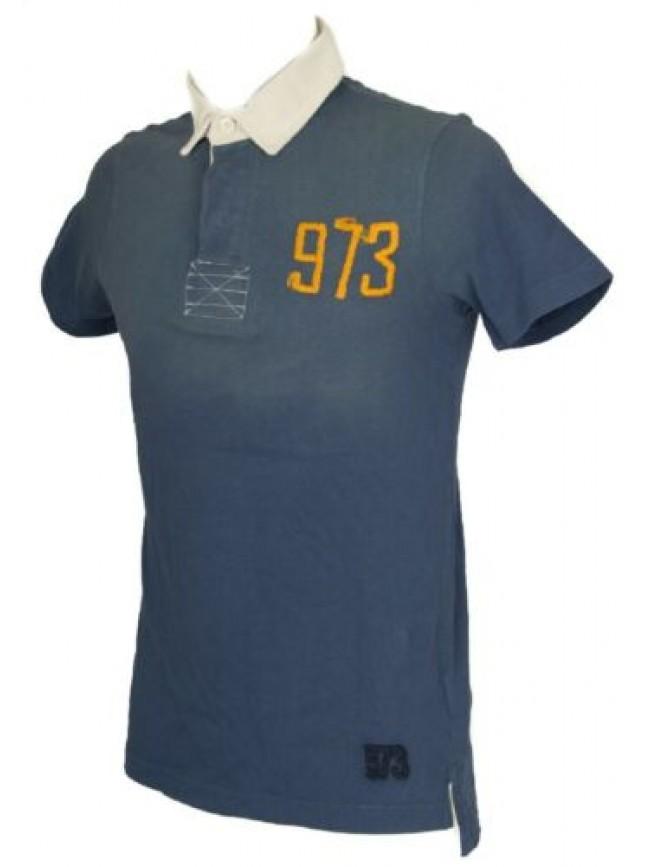 SG Polo uomo manica corta t-shirt colletto bottoni cotone LOTTO articolo L0048 S