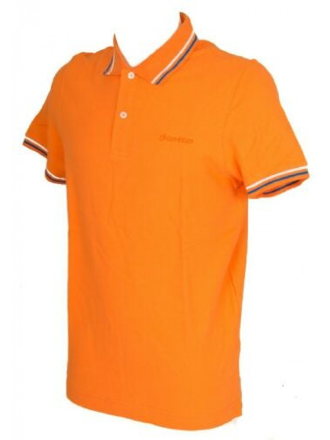 SG Polo uomo manica corta t-shirt colletto bottoni cotone LOTTO articolo R5117 B