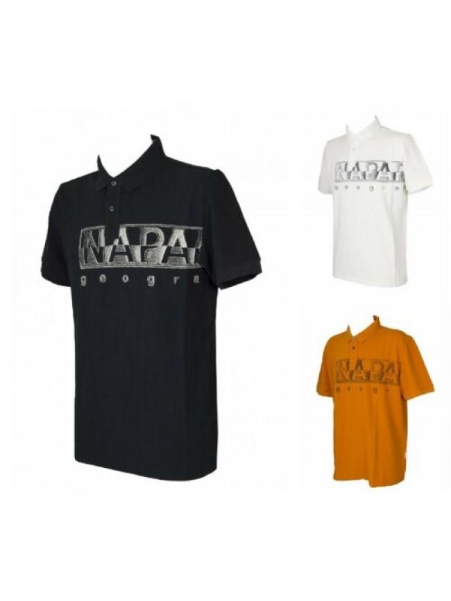 SG Polo uomo t-shirt manica corta maglietta cotone NAPAPIJRI articolo NP0A4FA4