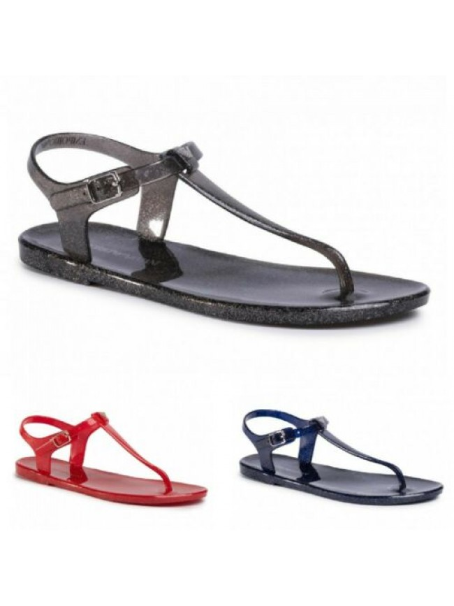 SG Sandalo infradito in gomma mare o piscina EMPORIO ARMANI articolo X3QS06 XL81