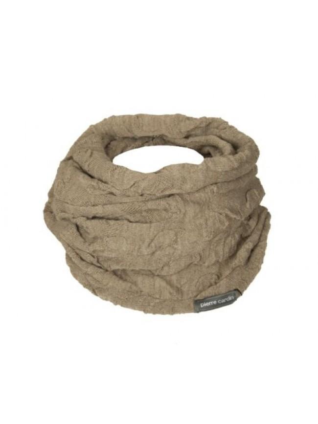 SG Scaldacollo fascia collo sciarpa donna PIERRE CARDIN articolo MS0841 made in