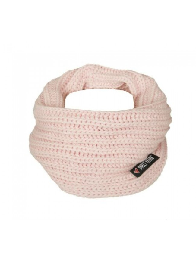 SG Scaldacollo fascia collo sciarpa donna SWEET YEARS articolo MS5588 made in IT