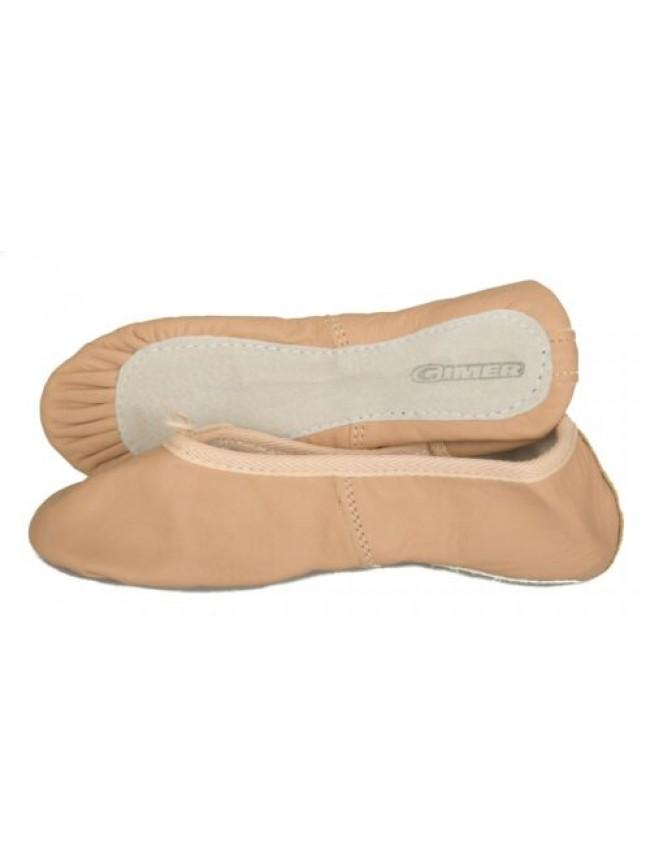 SG Scarpette danza da bambina bimba junior baby in pelle scarpe sport GIMER arti