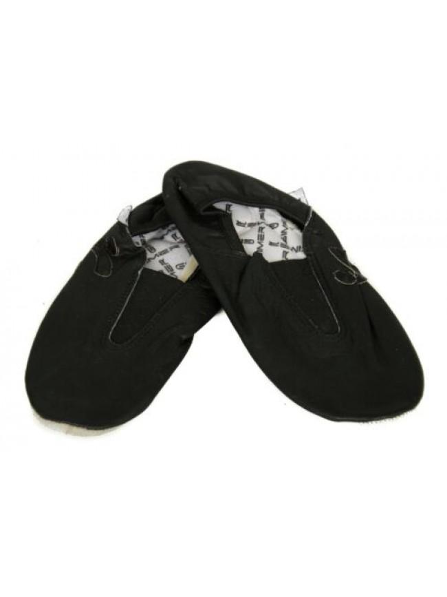 SG Scarpette ginnastica ritmica da adulto in pelle con doppio fondo scarpe sport