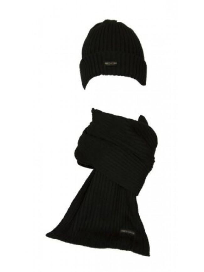 SG Set sciarpa + cappello berretto unisex ENRICO COVERI articolo MS1243 + MC1243
