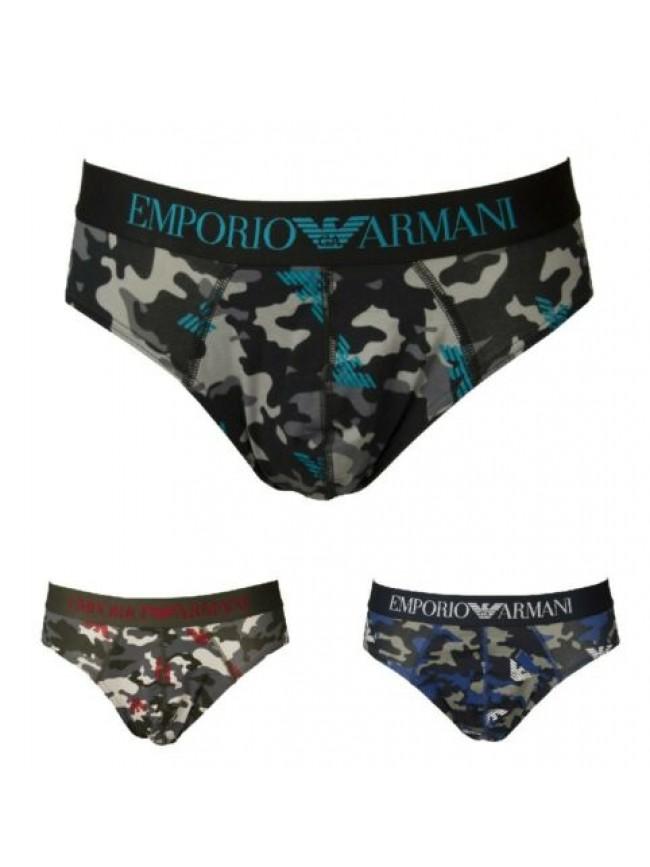 SG Slip mutanda uomo elastico a vista camuflage underwear EMPORIO ARMANI articol