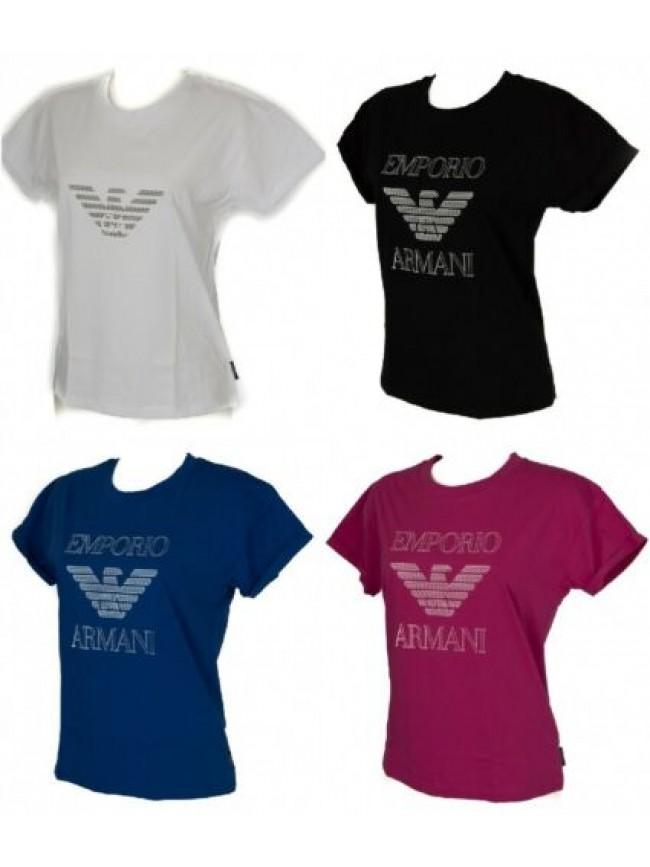 SG T-shirt donna manica corta girocollo EMPORIO ARMANI articolo 163762 6A253
