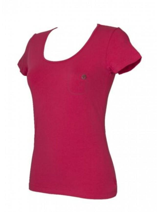 SG T-shirt donna manica corta girocollo elasticizzata EMPORIO ARMANI articolo 26