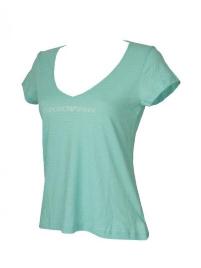 SG T-shirt donna manica corta scollo V cotone EMPORIO ARMANI articolo 262231 5P3