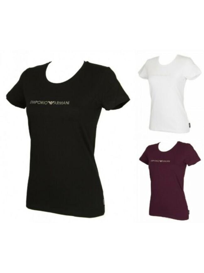 SG T-shirt maglietta donna manica corta girocollo cotone EMPORIO ARMANI articolo