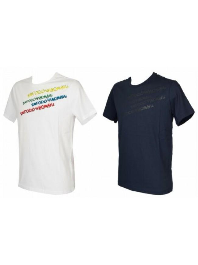 SG T-shirt maglietta uomo girocollo manica corta cotone EMPORIO ARMANI articolo