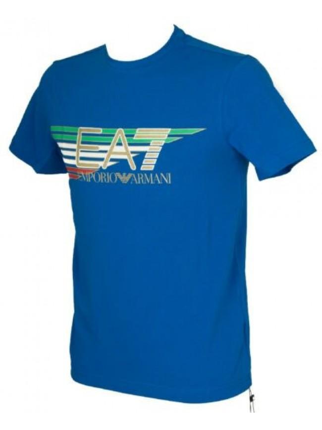 SG T-shirt manica corta maglietta uomo girocollo cotone EA7 EMPORIO ARMANI artic