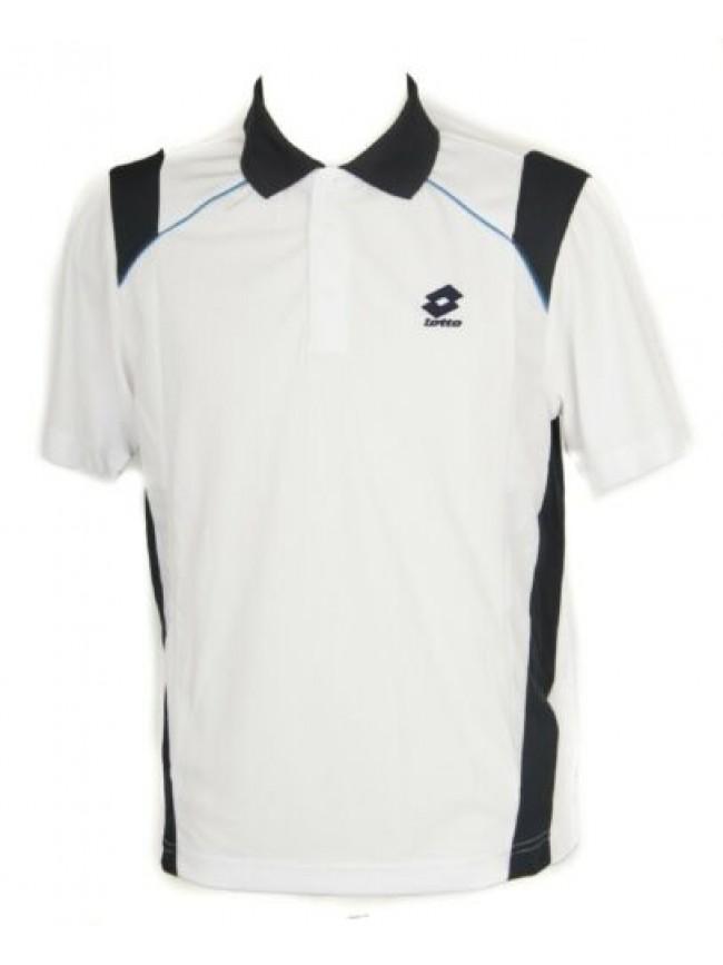 SG T-shirt polo maglietta manica corta uomo tennis sport LOTTO articolo J5419 PO