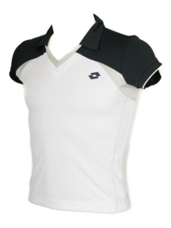SG T-shirt polo maglietta manica corta uomo tennis sport LOTTO articolo L8912 PO