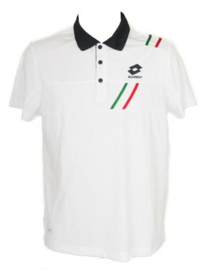SG T-shirt polo maglietta manica corta uomo tennis sport LOTTO articolo Q2325 PO