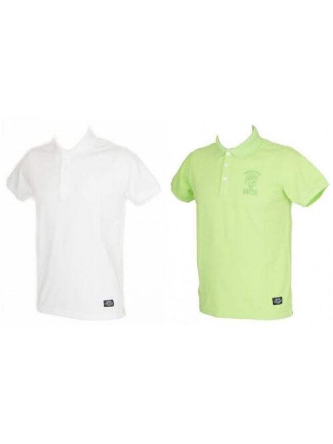 SG T-shirt polo uomo con colletto e bottoni manica corta DATCH articolo BU0059 T