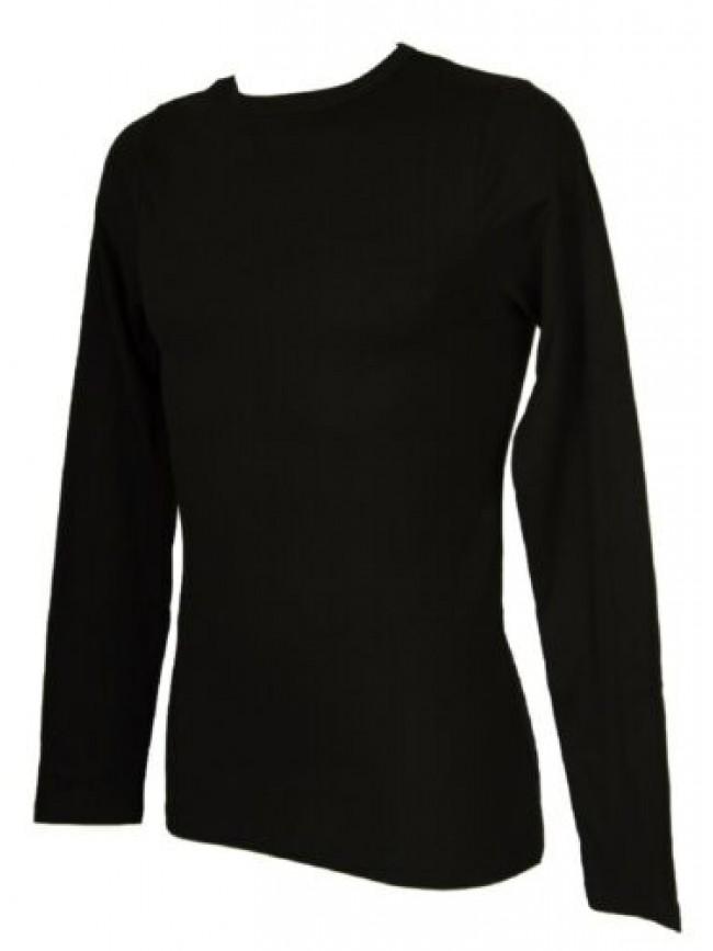 SG T-shirt uomo cotone maglia manica lunga girocollo RAGNO articolo U071M9