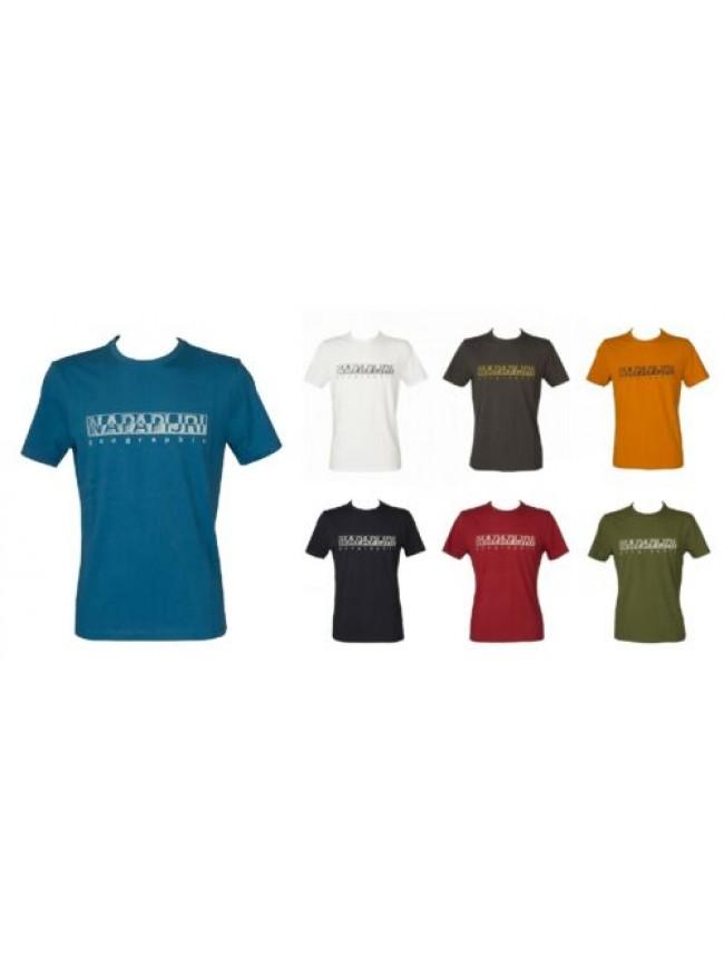 SG T-shirt uomo maglietta manica corta girocollo NAPAPIJRI articolo NP0A4F9O SAL