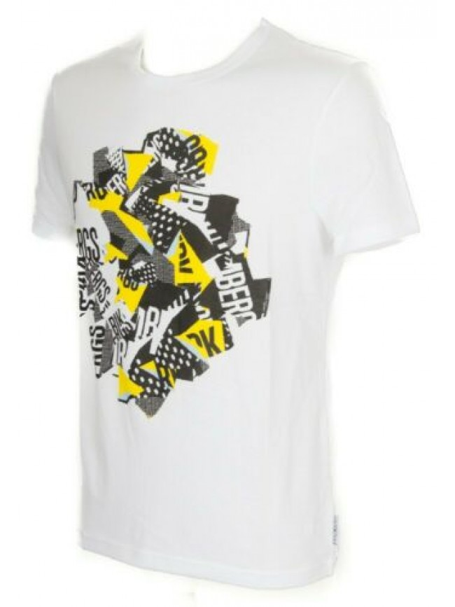 SG T-shirt uomo maglietta manica corta girocollo cotone BIKKEMBERGS articolo B6T