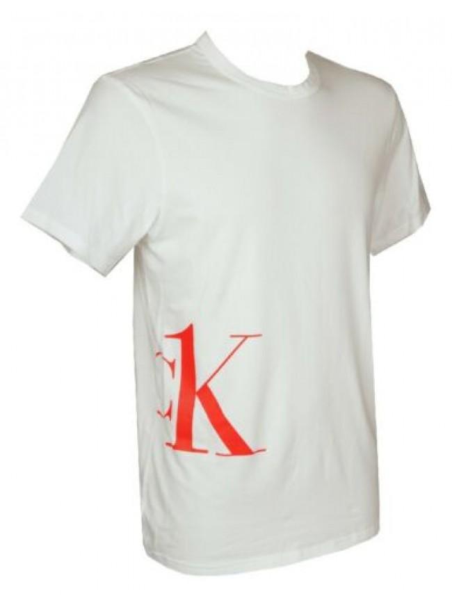 SG T-shirt uomo maglietta manica corta girocollo cotone CK CALVIN KLEIN articolo
