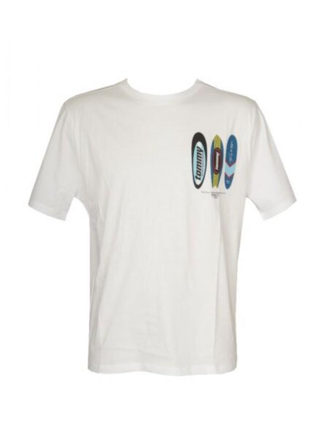 SG T-shirt uomo manica corta maglietta girocollo TH TOMMY HILFIGER articolo UM0U
