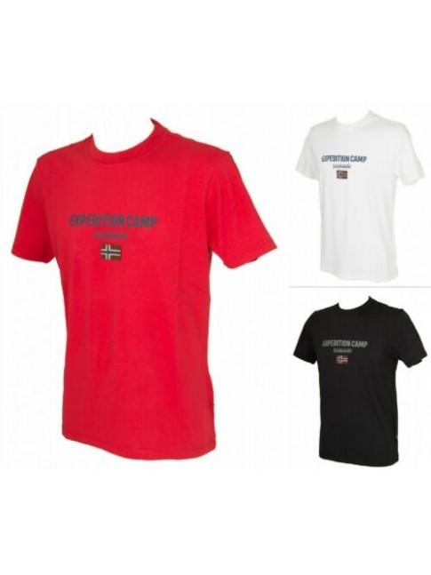 SG T-shirt uomo manica corta maglietta girocollo cotone NAPAPIJRI articolo N0YII