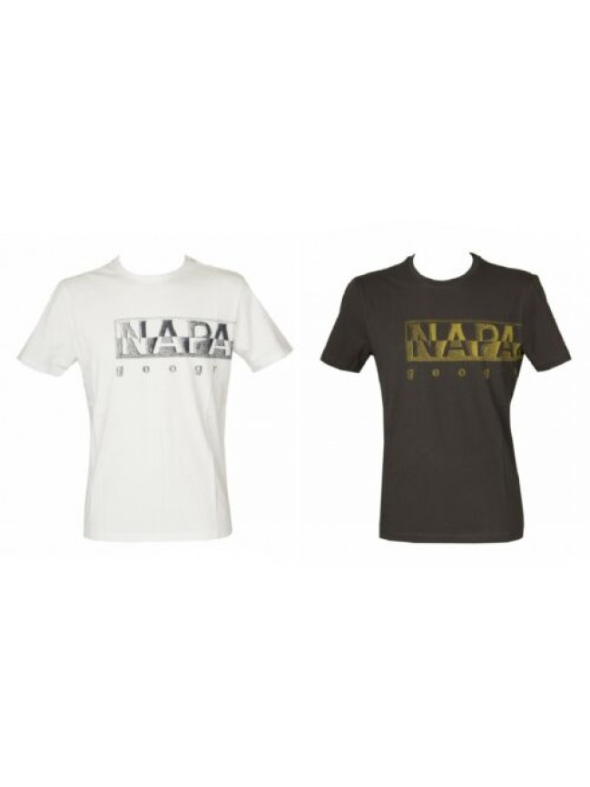 SG T-shirt uomo manica corta maglietta girocollo cotone NAPAPIJRI articolo NP0A4