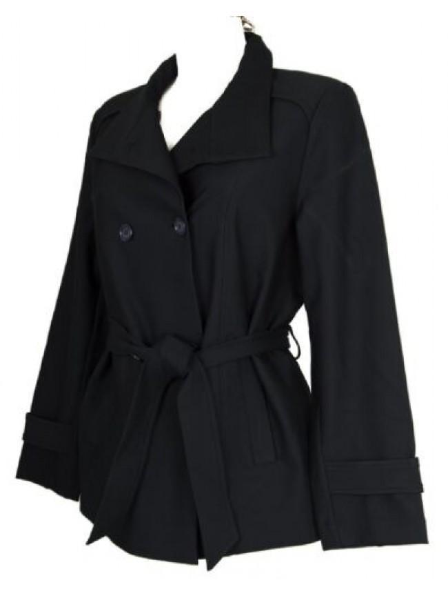 SG Trench con bottoni e cintura in vita giubbotto giaccone giacca donna RAGNO ar