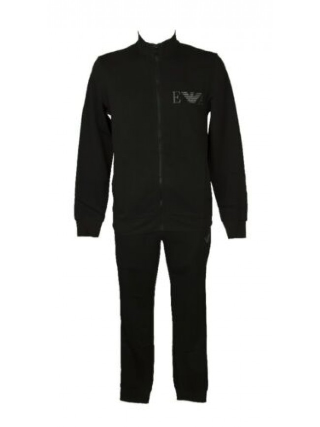 SG Tuta completo uomo felpa con zip + pantaloni loungewear EMPORIO ARMANI artico