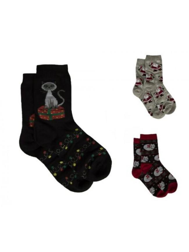 SG Un paio di calze calzino CIOCCA  basso donna calzini corti caldo cotone con d