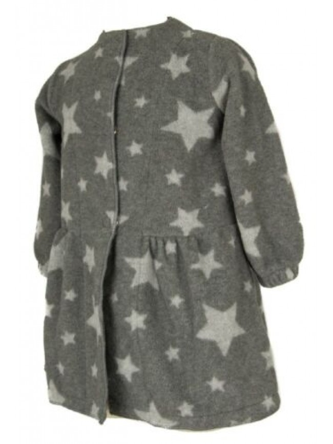 SG Vestaglia da camera bimba bambina manica lunga con clip in pile sleepwear HAP