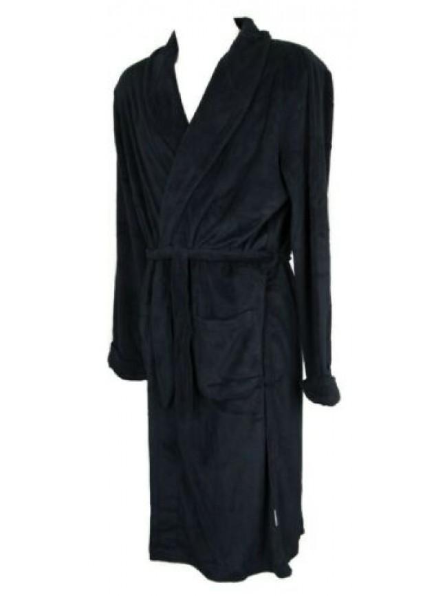SG Vestaglia da camera uomo in caldo e morbido pile homewear RAGNO articolo N253
