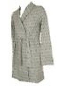 SG Vestaglia giacca da camera donna cotone interlock manica lunga homewear TRUSS