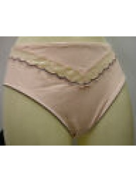 SLIP DONNA CHANTELLE BRIEF WOMAN ART.2963 T.5 XL EX. LARGE C.ROSA TAFFETA ROSE