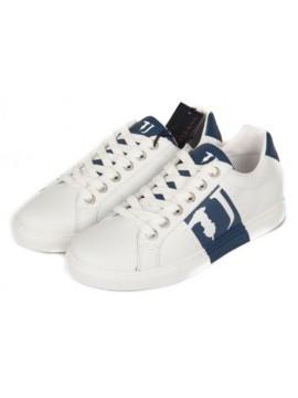 SP Scarpe uomo sneaker TRUSSARDI JEANS articolo 77S527 SNEAKER LOGO LATERAL