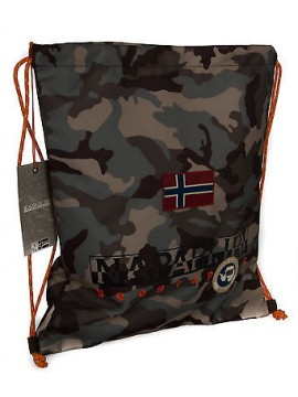 Sacca borsa bag NAPAPIJRI 5ANN3R22 north cape gym backpack col. Y50 CAMO